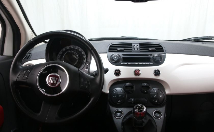 2012 Fiat 500 Lounge A/C CUIR TOIT MAGS BLUETOOTH #11