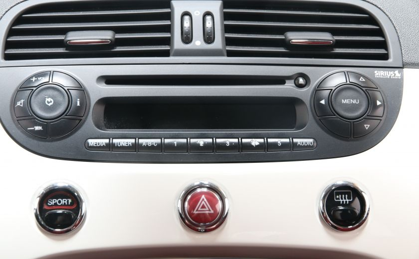 2012 Fiat 500 Lounge A/C CUIR TOIT MAGS BLUETOOTH #12