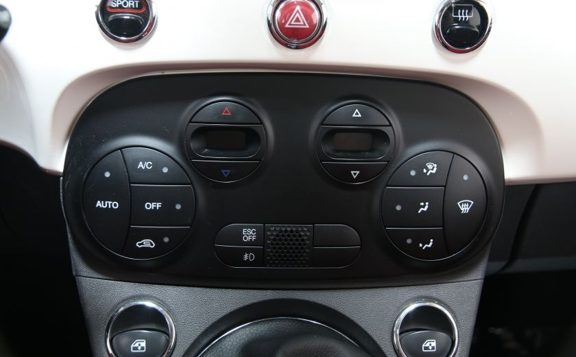 2012 Fiat 500 Lounge A/C CUIR TOIT MAGS BLUETOOTH #13