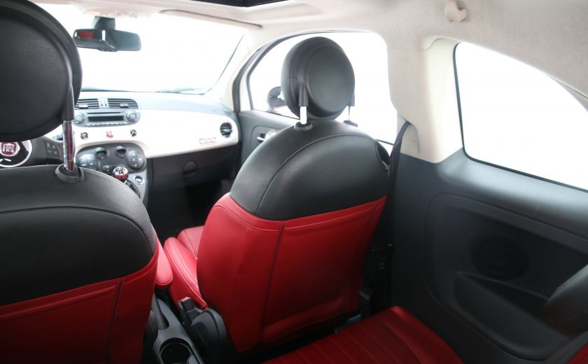 2012 Fiat 500 Lounge A/C CUIR TOIT MAGS BLUETOOTH #14