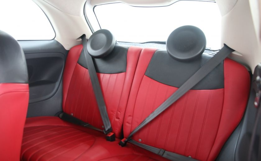 2012 Fiat 500 Lounge A/C CUIR TOIT MAGS BLUETOOTH #15