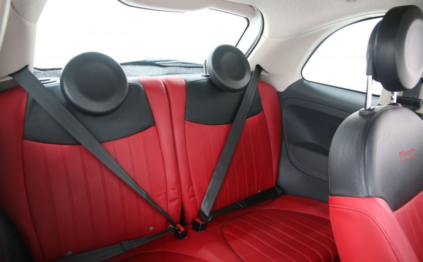 2012 Fiat 500 Lounge A/C CUIR TOIT MAGS BLUETOOTH #17
