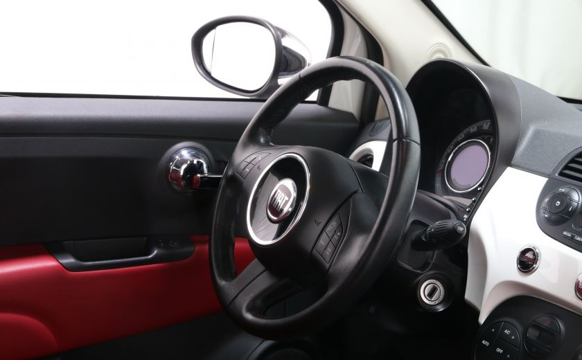 2012 Fiat 500 Lounge A/C CUIR TOIT MAGS BLUETOOTH #19