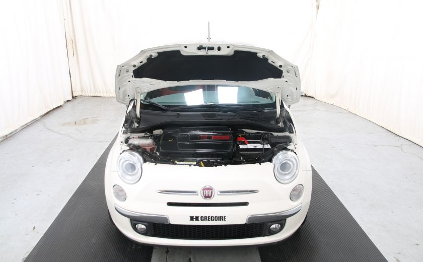 2012 Fiat 500 Lounge A/C CUIR TOIT MAGS BLUETOOTH #21