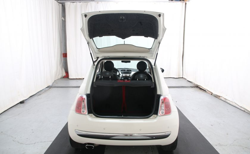 2012 Fiat 500 Lounge A/C CUIR TOIT MAGS BLUETOOTH #23
