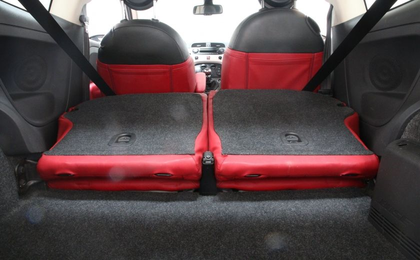 2012 Fiat 500 Lounge A/C CUIR TOIT MAGS BLUETOOTH #25