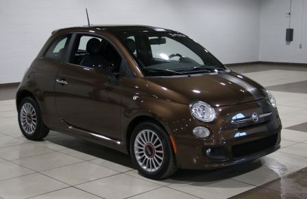 2012 Fiat 500 Sport AUTO A/C TOIT MAGS BLUETOOTH #0