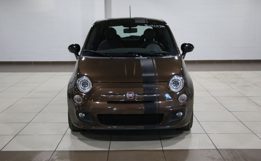 2012 Fiat 500 Sport AUTO A/C TOIT MAGS BLUETOOTH #1