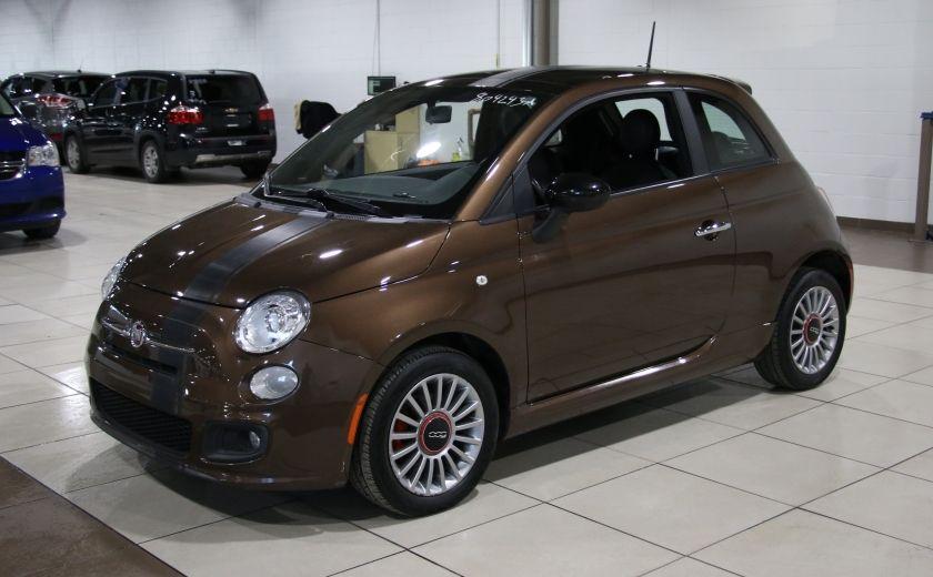 2012 Fiat 500 Sport AUTO A/C TOIT MAGS BLUETOOTH #2