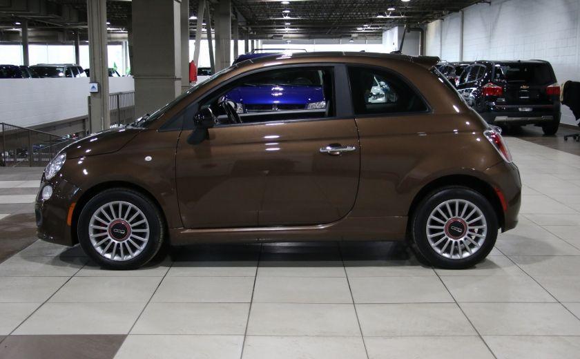 2012 Fiat 500 Sport AUTO A/C TOIT MAGS BLUETOOTH #3