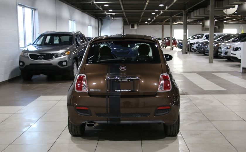 2012 Fiat 500 Sport AUTO A/C TOIT MAGS BLUETOOTH #5