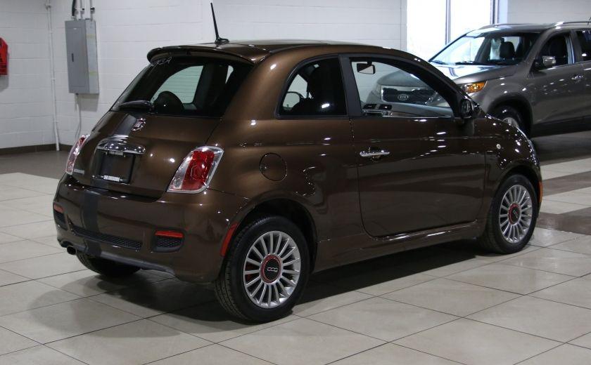 2012 Fiat 500 Sport AUTO A/C TOIT MAGS BLUETOOTH #6