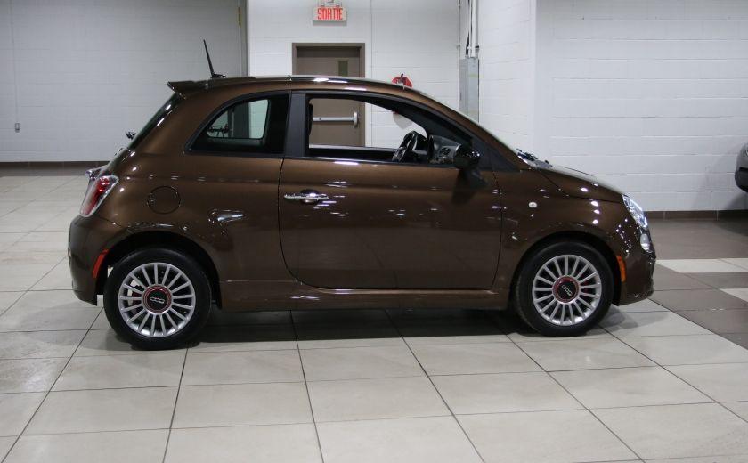 2012 Fiat 500 Sport AUTO A/C TOIT MAGS BLUETOOTH #7