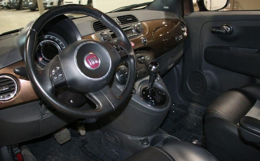 2012 Fiat 500 Sport AUTO A/C TOIT MAGS BLUETOOTH #8