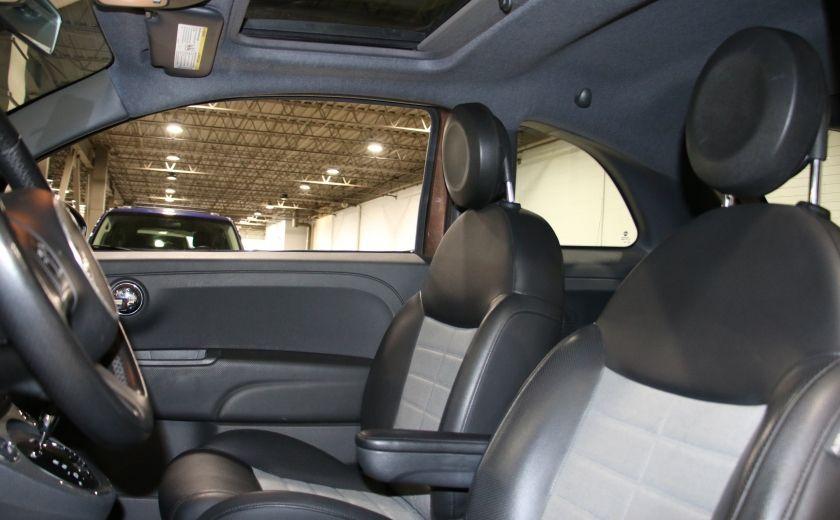 2012 Fiat 500 Sport AUTO A/C TOIT MAGS BLUETOOTH #9