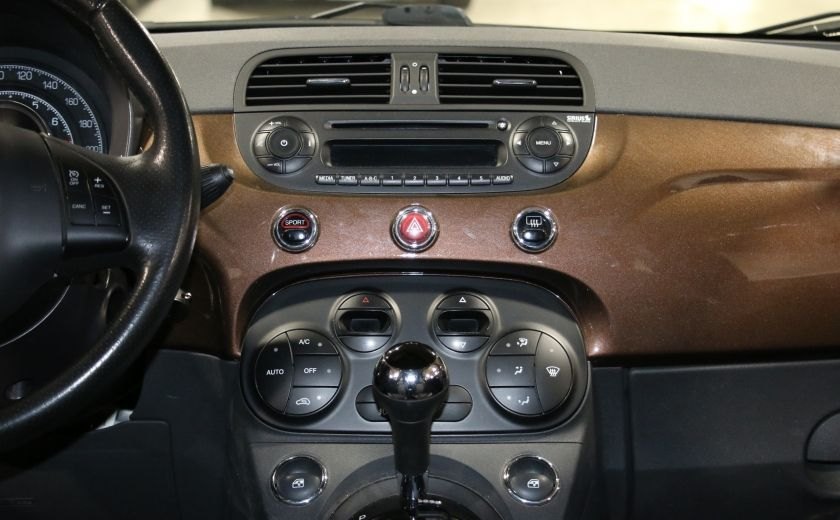 2012 Fiat 500 Sport AUTO A/C TOIT MAGS BLUETOOTH #12