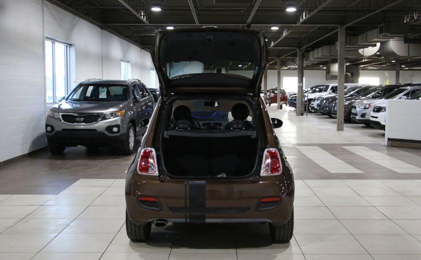 2012 Fiat 500 Sport AUTO A/C TOIT MAGS BLUETOOTH #19