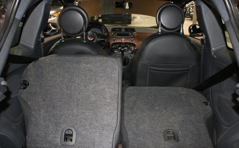 2012 Fiat 500 Sport AUTO A/C TOIT MAGS BLUETOOTH #21