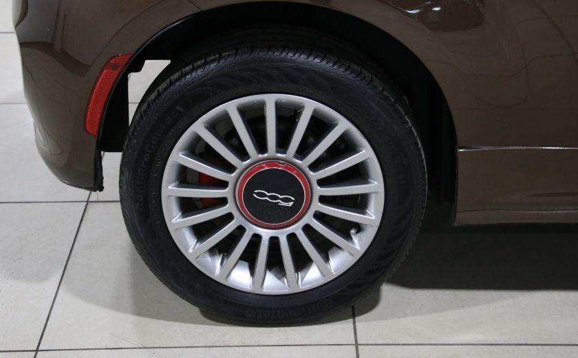 2012 Fiat 500 Sport AUTO A/C TOIT MAGS BLUETOOTH #22