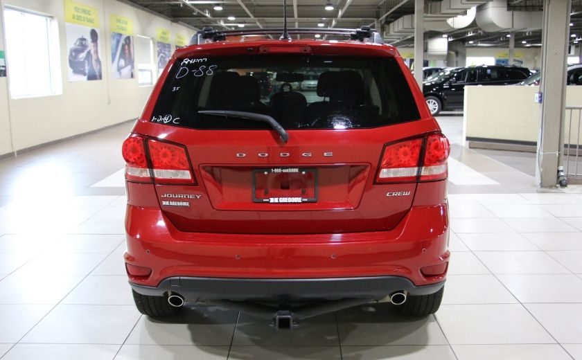2012 Dodge Journey CREW AUTO A/C GR ELECT MAGS CHROME BLUETOOTH #5