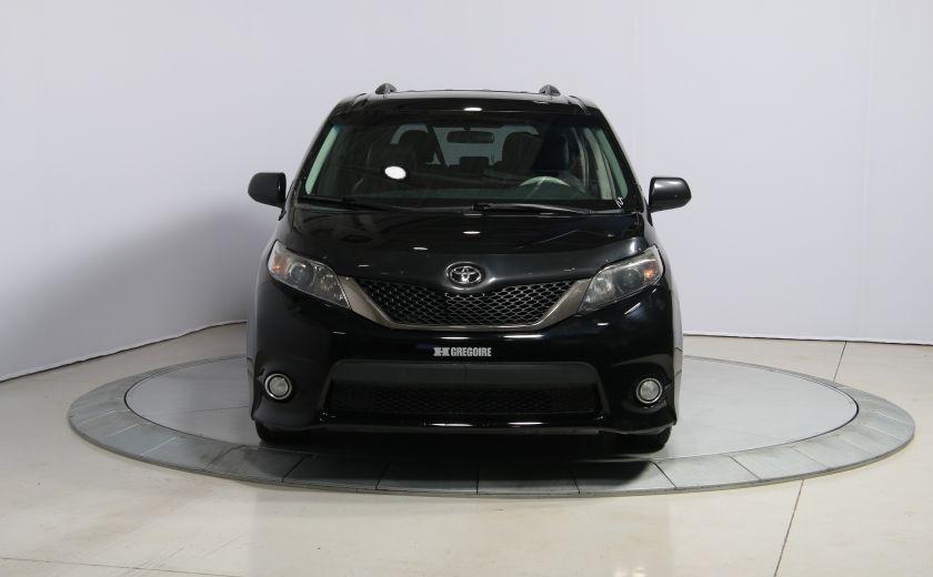 2011 Toyota Sienna SE AUTO A/C MAGS BLUETHOOT CUIR TOIT #1