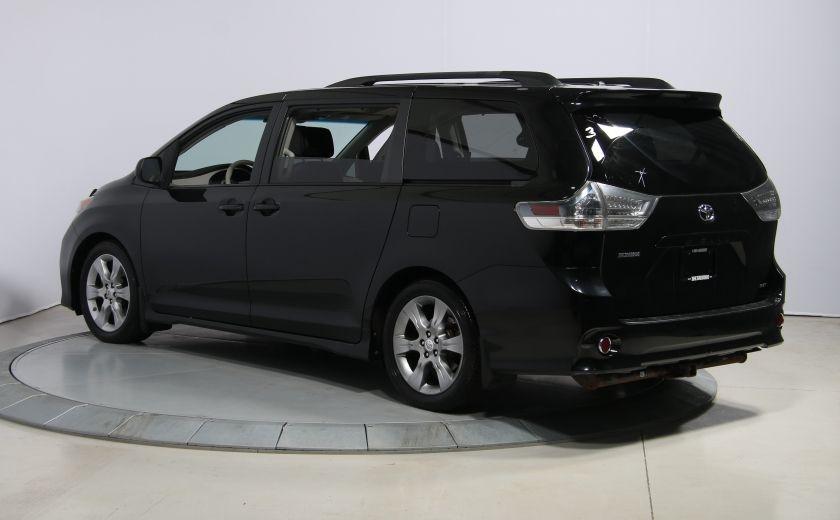 2011 Toyota Sienna SE AUTO A/C MAGS BLUETHOOT CUIR TOIT #4