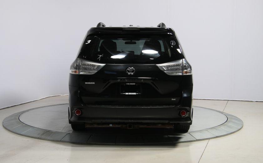 2011 Toyota Sienna SE AUTO A/C MAGS BLUETHOOT CUIR TOIT #5