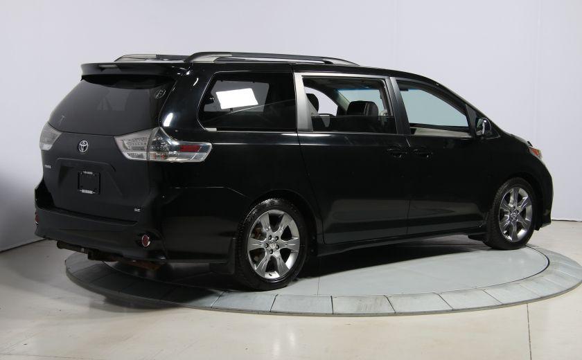 2011 Toyota Sienna SE AUTO A/C MAGS BLUETHOOT CUIR TOIT #6