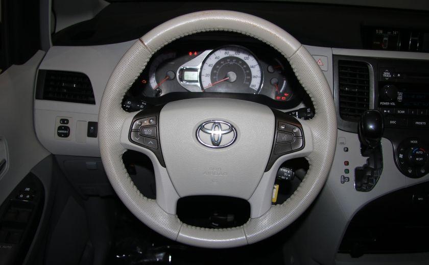 2011 Toyota Sienna SE AUTO A/C MAGS BLUETHOOT CUIR TOIT #15