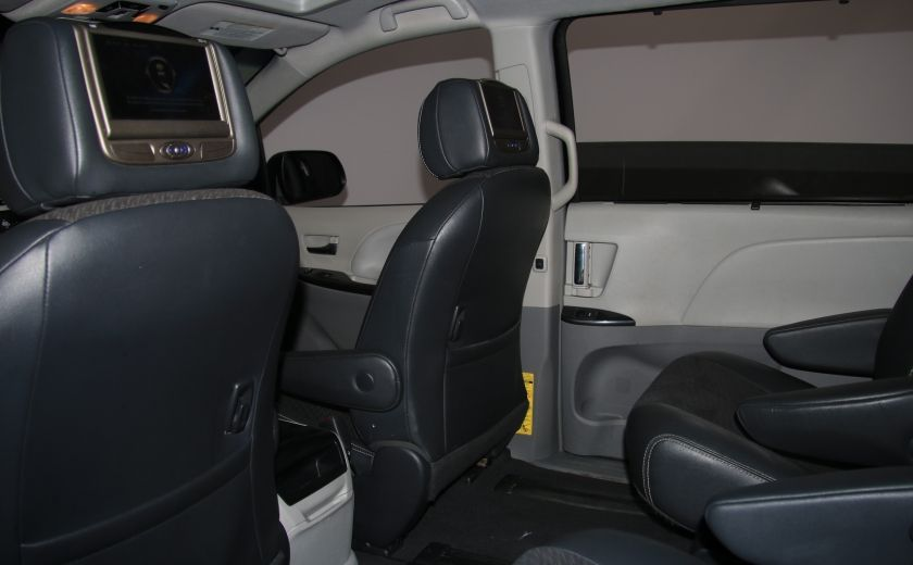 2011 Toyota Sienna SE AUTO A/C MAGS BLUETHOOT CUIR TOIT #20