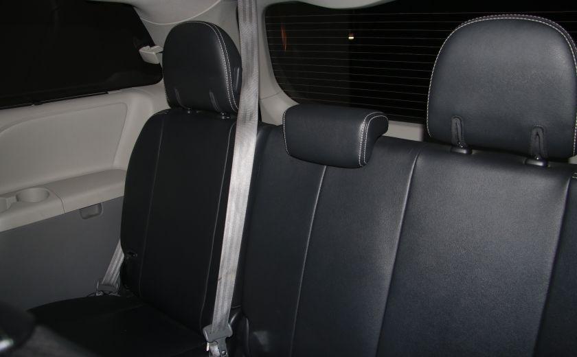 2011 Toyota Sienna SE AUTO A/C MAGS BLUETHOOT CUIR TOIT #21