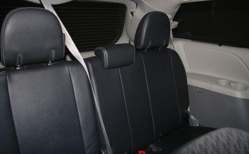 2011 Toyota Sienna SE AUTO A/C MAGS BLUETHOOT CUIR TOIT #22