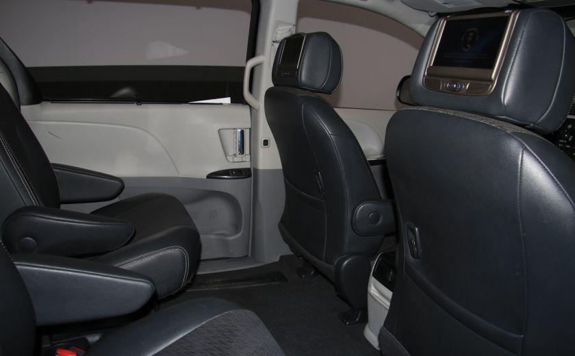 2011 Toyota Sienna SE AUTO A/C MAGS BLUETHOOT CUIR TOIT #23