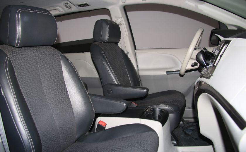 2011 Toyota Sienna SE AUTO A/C MAGS BLUETHOOT CUIR TOIT #26