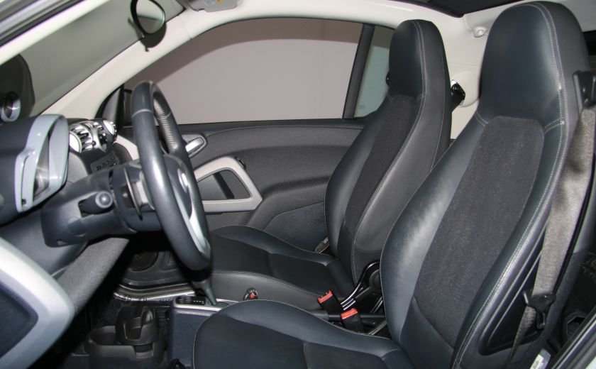 2009 Smart Fortwo Pure AUTO A/C CUIR MAGS #9