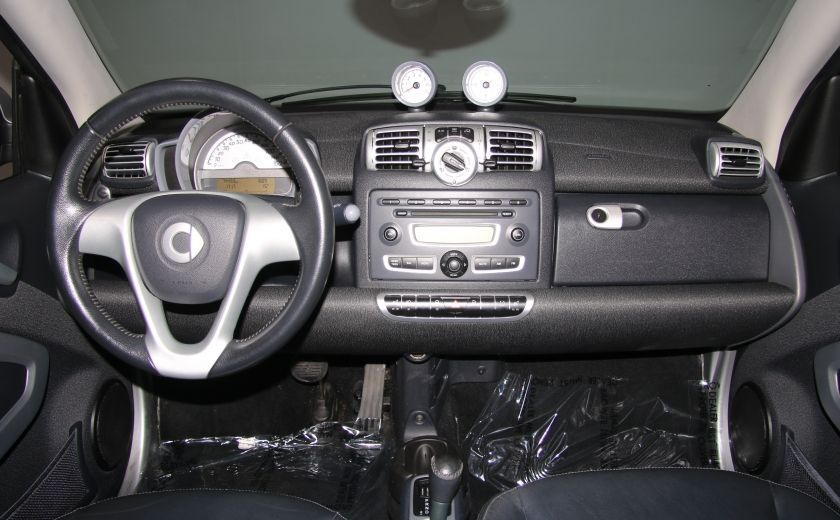 2009 Smart Fortwo Pure AUTO A/C CUIR MAGS #12