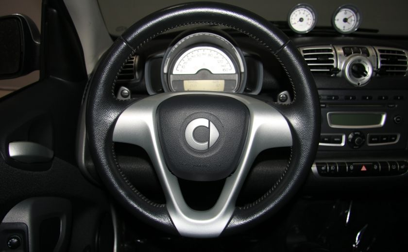 2009 Smart Fortwo Pure AUTO A/C CUIR MAGS #14