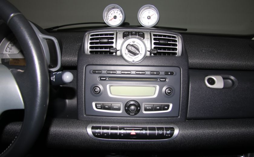 2009 Smart Fortwo Pure AUTO A/C CUIR MAGS #15