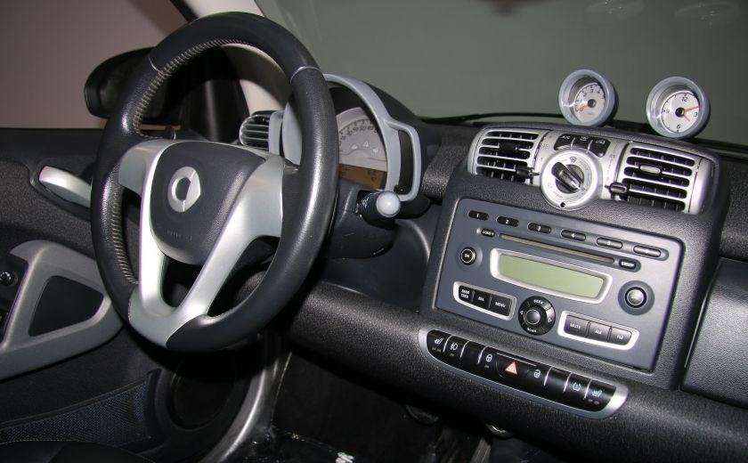 2009 Smart Fortwo Pure AUTO A/C CUIR MAGS #19