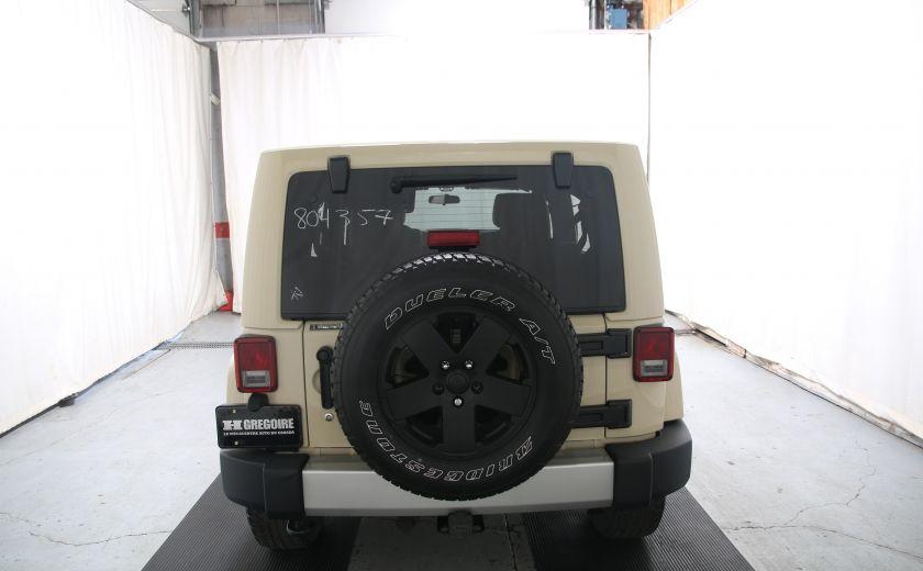 2011 Jeep Wrangler Sahara #4