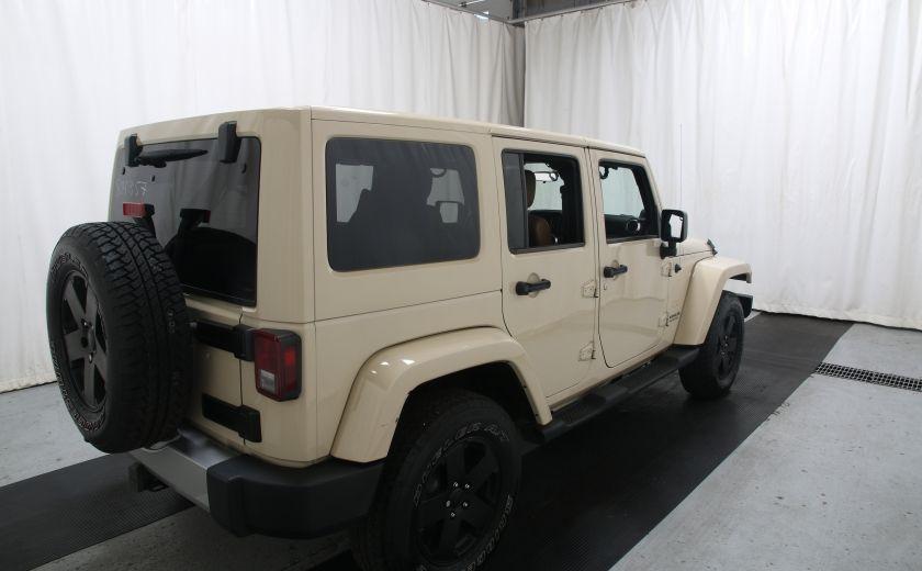 2011 Jeep Wrangler Sahara #5