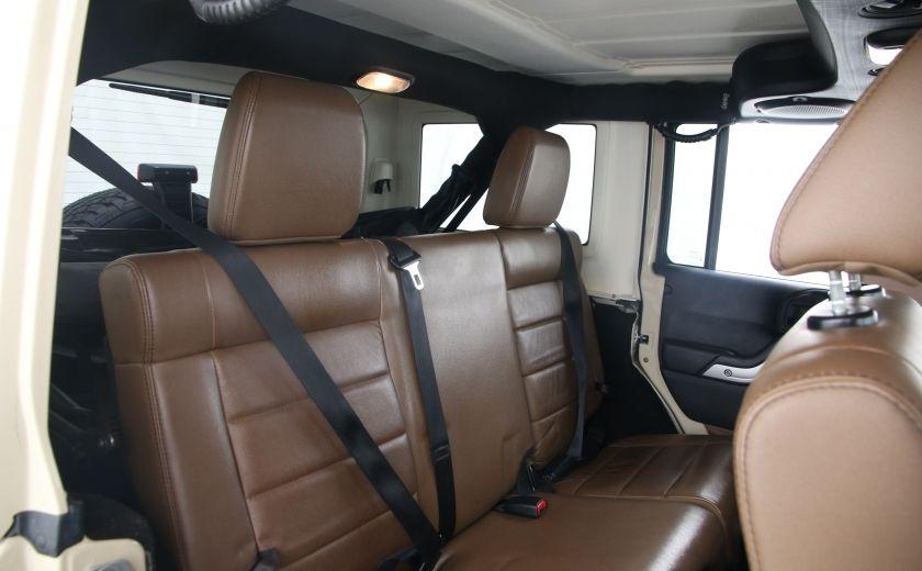 2011 Jeep Wrangler Sahara #16