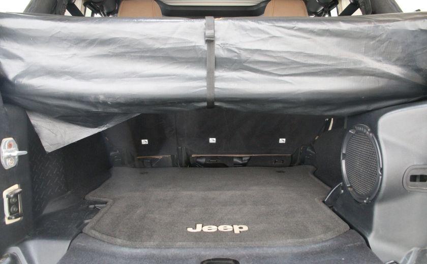 2011 Jeep Wrangler Sahara #23