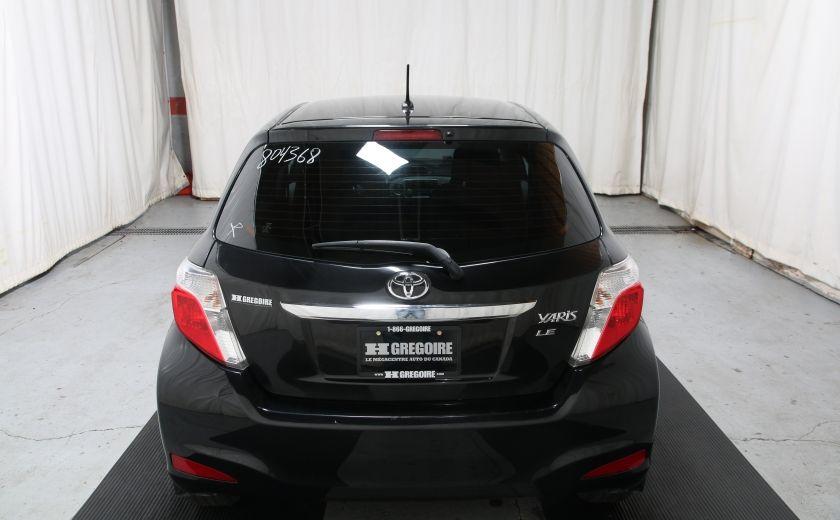 2012 Toyota Yaris LE AUTO A/C GR ELECT BLUETOOTH #4