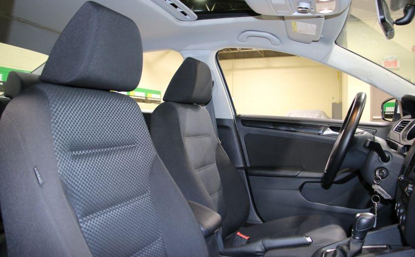 2015 Volkswagen Jetta Comfortline AUTO A/C TOIT MAGS 1.8TURBO #24