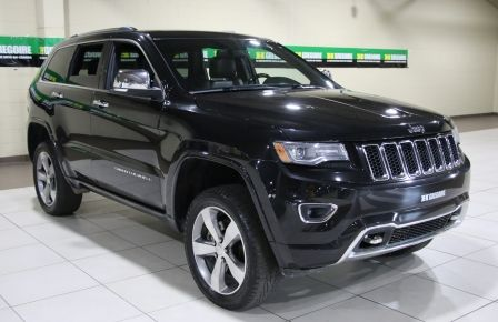 2014 Jeep Grand Cherokee Overland 4WD AUTO CUIR TOIT PANO MAGS NAV à Lévis