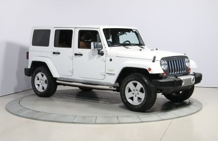 2012 Jeep Wrangler Sahara 4WD AUTO A/C CUIR 2TOITS MAGS in Rimouski