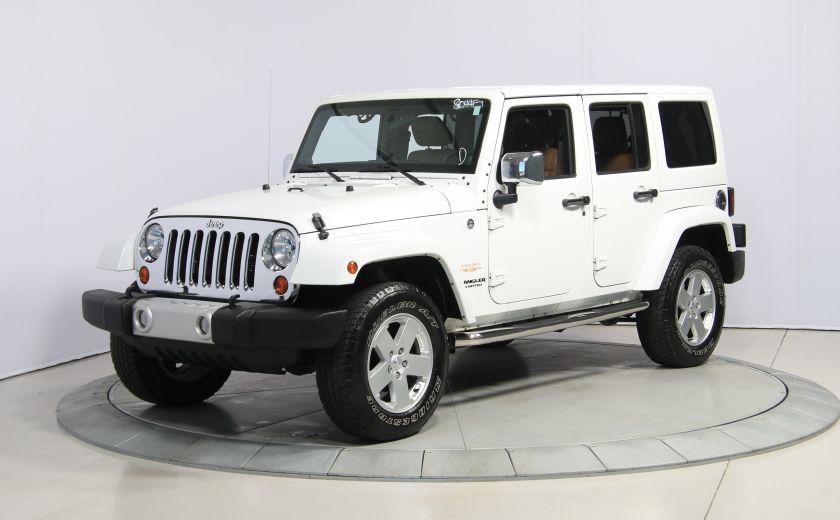 2012 Jeep Wrangler Sahara 4WD AUTO A/C CUIR 2TOITS MAGS #2