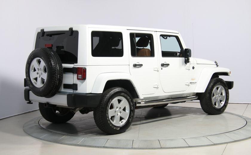 2012 Jeep Wrangler Sahara 4WD AUTO A/C CUIR 2TOITS MAGS #6