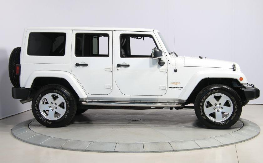 2012 Jeep Wrangler Sahara 4WD AUTO A/C CUIR 2TOITS MAGS #7
